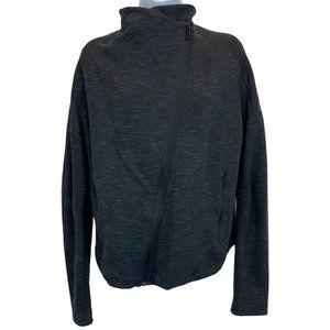 Adidas Heartracer Charcoal Asymmetrical Jacket